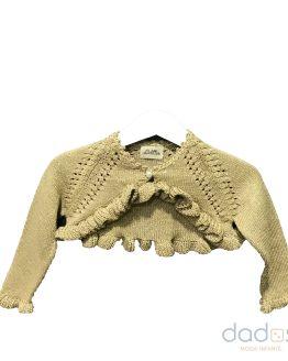 Lolittos colección oro chaqueta corta niña