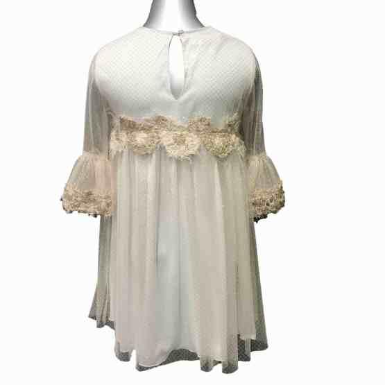Espalda Bella Bimba colección Ananda vestido corte pecho