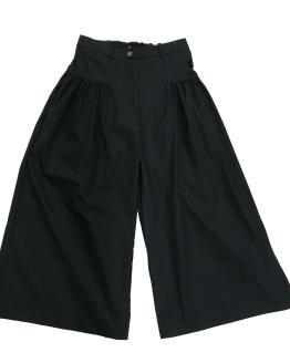 Monnalisa pantalón negro ancho popeline