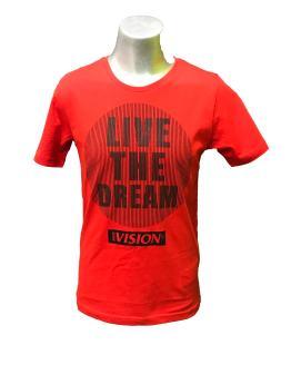 IDO camiseta chico roja y negra
