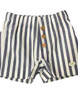 Pantalón José Varón conjunto niño bermuda rayas