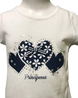 Detalle IDO conjunto short y camiseta corazones
