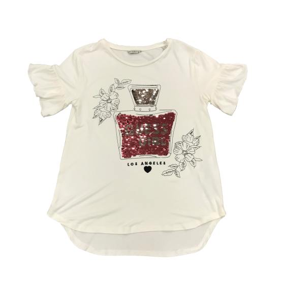 Guess camiseta chica dibujo perfume