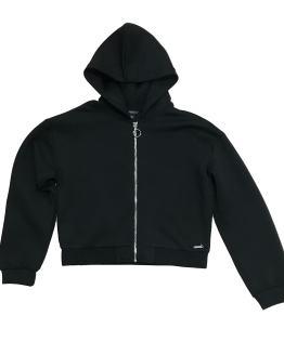 Guess chaqueta negra logo espalda
