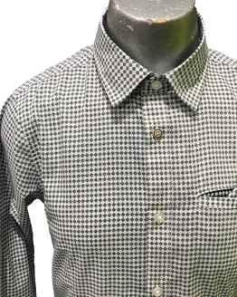 Detalle Sarabanda camisa vestir estampada
