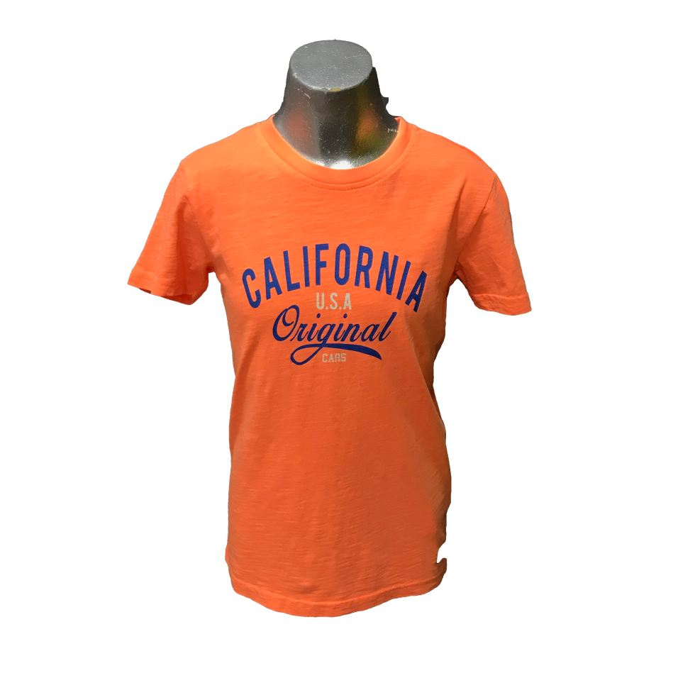 Cars Jeans camiseta naranja California