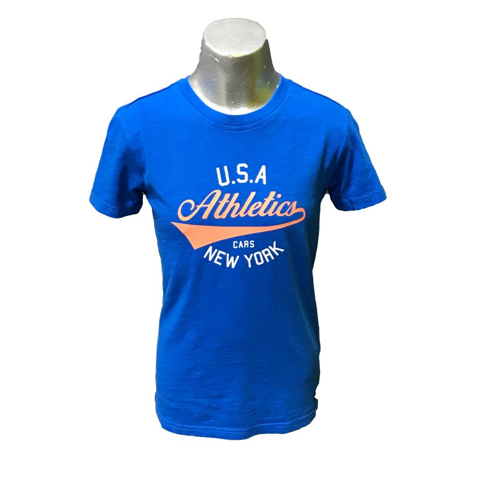 Cars Jeans camiseta Athletics azul