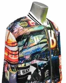 Detalle Jaimè chaqueta multicolor