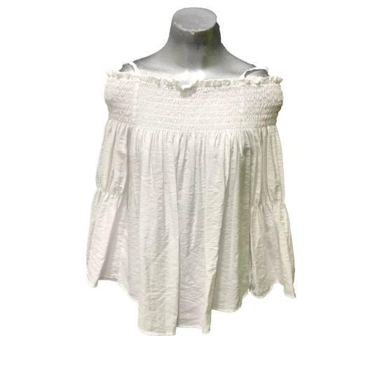 Manila Grace blusa blanca