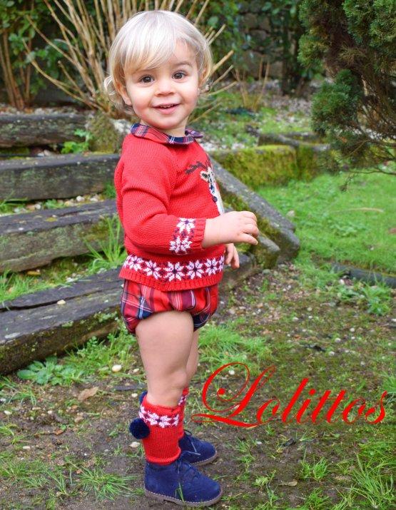 Catálogo Lolittos colección Christmas jubón con cubre niño