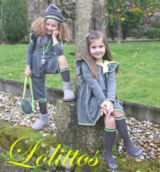 Catálogo Lolittos colección Circus vestido cotton