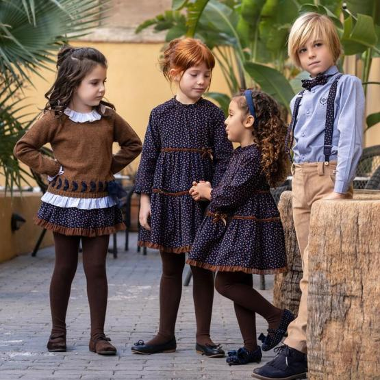 Tutto Piccolo colección Phoenix falda, leotardos y jersey catálogo