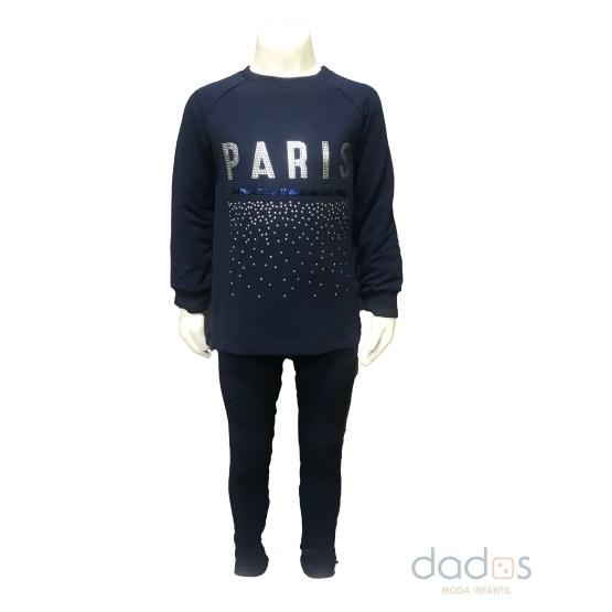 IDO conjunto legging sudadera París