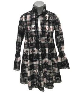 Bella Bimba colección Meira vestido lorzas