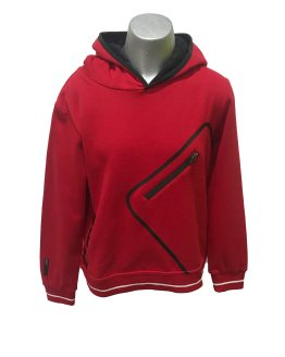 Sarabanda colección Ducati sudadera roja capucha
