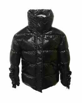 IDO chaquetón chica negro tejido térmico