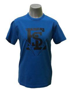 Diesel camiseta rayos azul