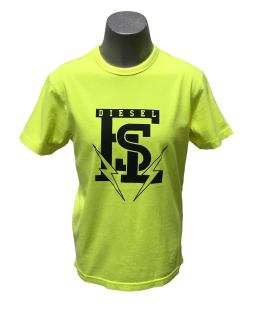 Diesel camiseta fluor rayos