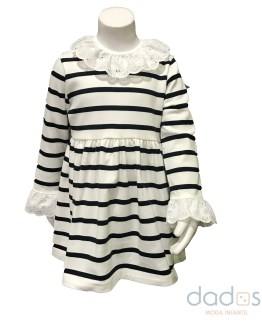 Mon Petit Bonbon vestido rayas