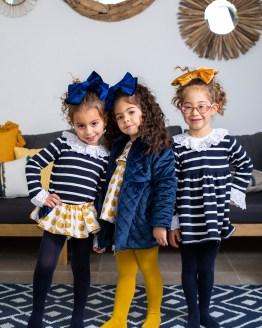 Catálogo Mon Petit Bonbon vestido rayas