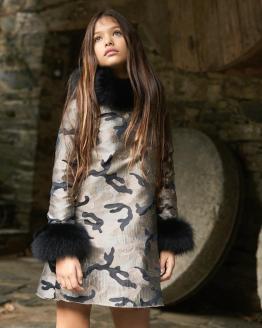 Bella Bimba colección Luarca vestido evasé (sin puños pelo)