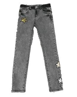 Guess pantalón vaquero chica gris con estrellas