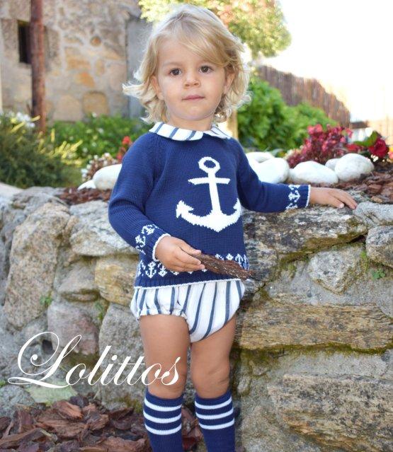 3 Lolittos colección Ibiza jubón con cubre niño