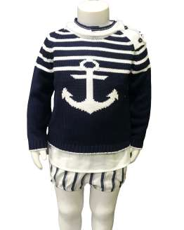 Propuesta conjunto Lolittos colección Ibiza rana con camisa niño