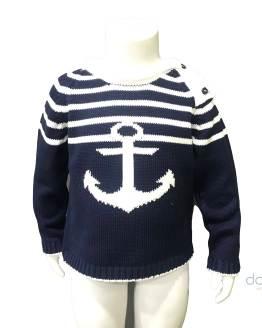 Lolittos colección Ibiza jersey niño ancla