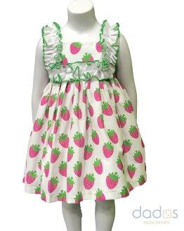 Mon Petit Bonbon Vestido fresas
