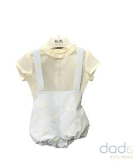 José Varón Colección bordados Conjunto bebé niño