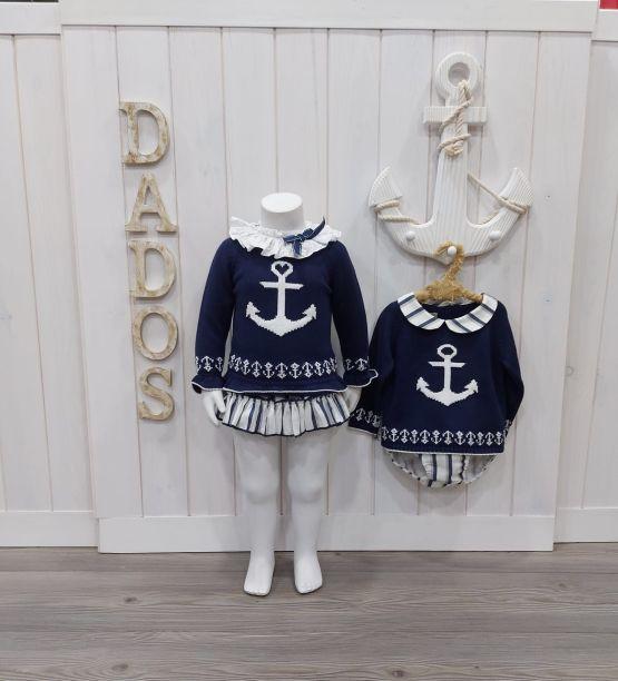 Colección Ibiza dados moda infantil