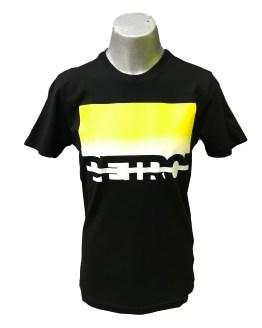 Petrol camiseta chico negra y amarilla