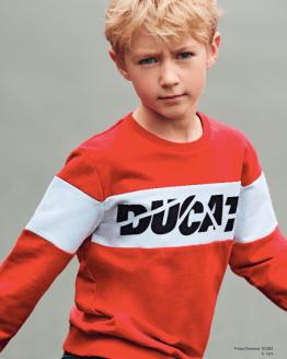 Sarabanda Colección Ducati sudadera chico roja 2