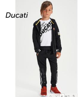 Sarabanda colección Ducati jogging negro chico raya lateral
