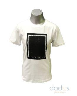 Sarabanda camiseta chico blanca