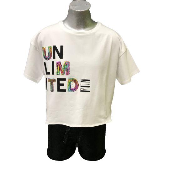 Propuesta lokk short y camiseta