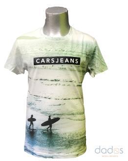 Cars Jeans camiseta chico verde surf