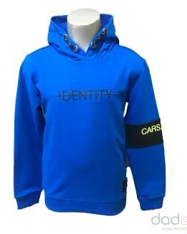 Cars Jeans sudadera chico azulona Identity