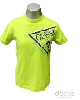 Guess camiseta chico verde lima