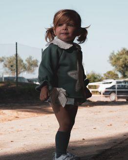 Catálogo Cocote conjunto bebé niña sudadera estrella terracota