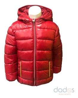 Ido chaquetón niño térmico rojo