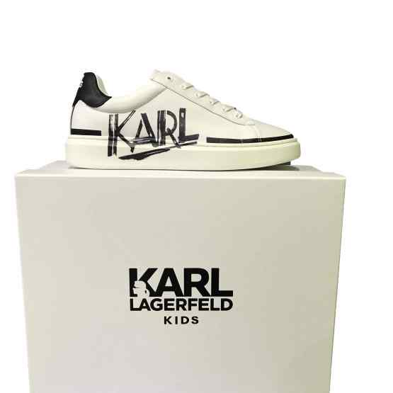 Karl Lagerfeld sneaker blanca letras