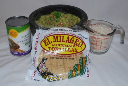 Veggie Tacos Ingredients