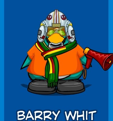 Whit Honea on Club Penguin