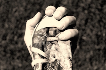 Shoe in Hand