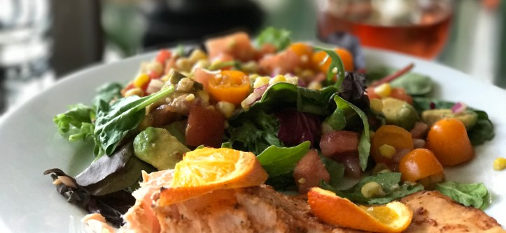 Orange and Ginger Salmon