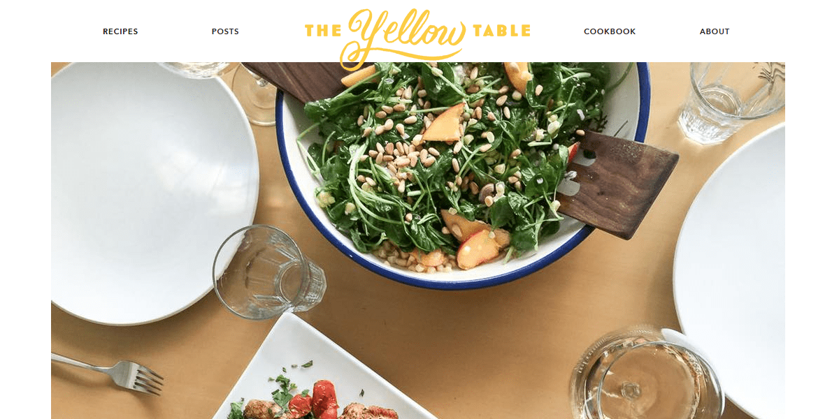 Mediterranean Grilled Chicken Salad with Lemon-Herb Vinaigrette - The Yellow Table - Live Cooking Show - Episode 5