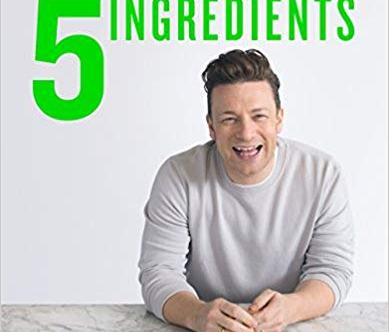 Jami Oliver 5 ingredients book cover