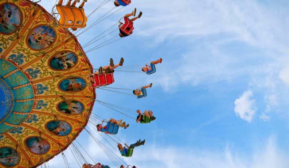 summer fair merry go round